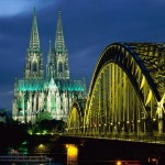 Cologne Cathedral And Hohenzollern Bridge, Cologne